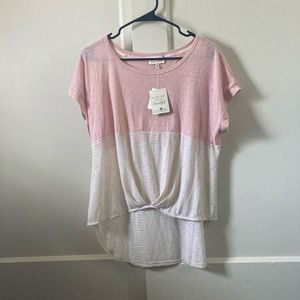 Color block Shirt NWT